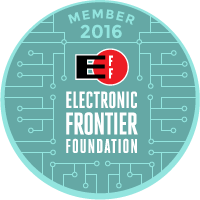 EFF Member 2016 (2017, too, but I don't have an image for that yet)