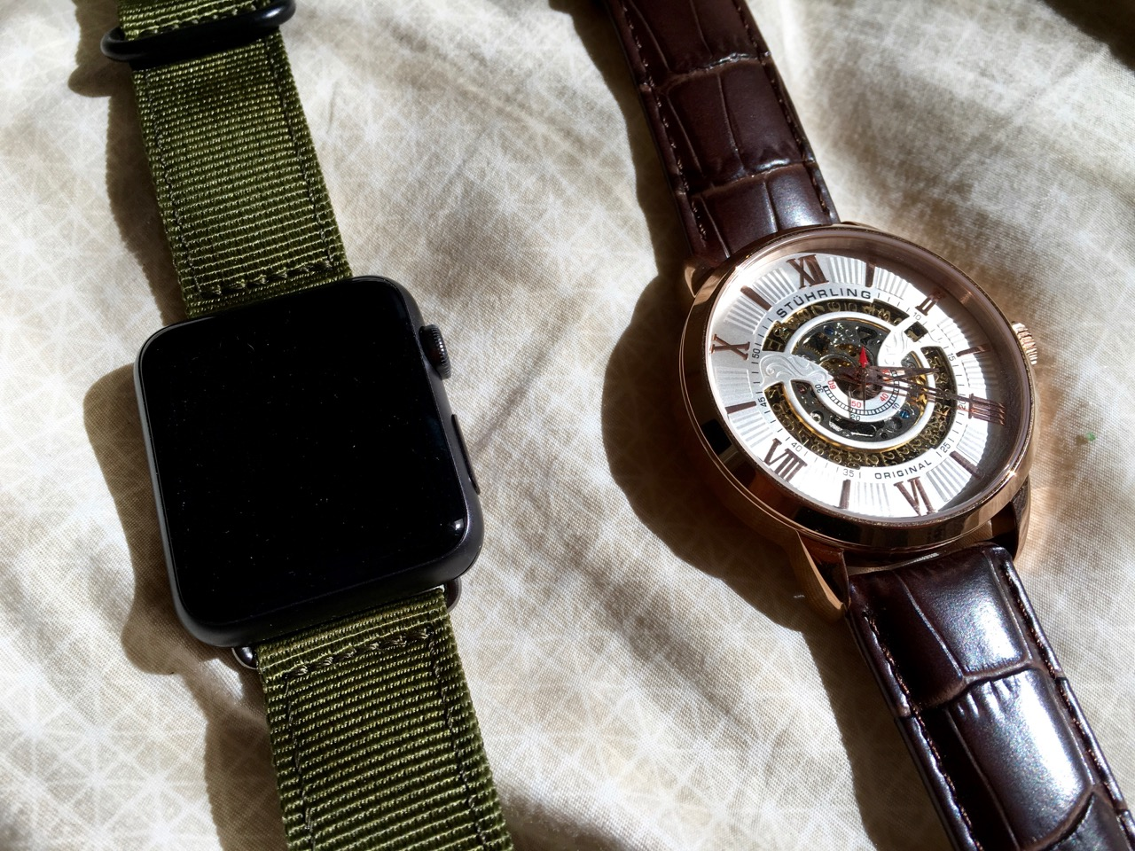 Apple Watch vs. Stuhrling Original 696.03